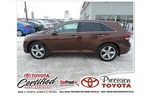2014 Toyota Venza Base V6 Local One Owner, Leather, Navi, Bac...