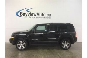 2016 Jeep PATRIOT HIGH ALTITUDE- 4x4! HEATED LEATHER! U-CONNECT!