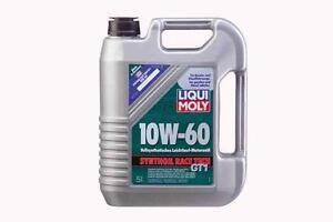 10W60 100% SYNTHETIC OIL LIQUI MOLY RACE TECH GT1 FOR M SERIES
