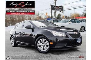 2012 Chevrolet Cruze ONLY 68K! **CLEAN CARPROOF** POWER OPTIONS