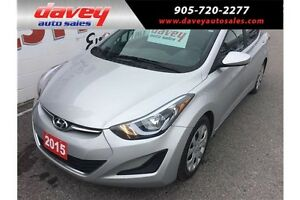 2015 Hyundai Elantra GL HEATED SEATS, BLUETOOTH, MP3 INPUT