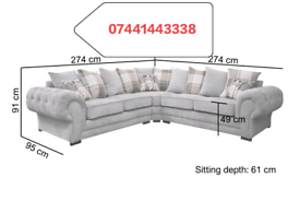 Verona Large Corner Or 3+2 Sofa In Different Colors Good Quality