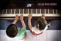 CHILDREN HAVE FUN WHILE LEARNING PIANO