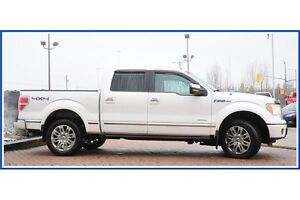 2011 Ford F-150 Platinum/LEATHER/4X4/PWR RUNNING BDS/HEAT&COO... Kitchener / Waterloo Kitchener Area image 4