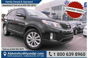 2014 Kia Sorento EX V6 CERTIFIED ACCIDENT FREE