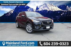 2014 Mazda CX-5 GT ONE OWNER, LOW'S KM