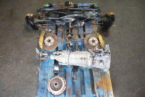 JDM Subaru Impreza Wrx STi 6speed Awd Transmission Brembo 04 05