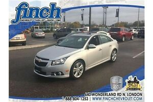 2011 Chevrolet Cruze LTZ Turbo LTZ|SUNROOF|PIONEER|LEATHER