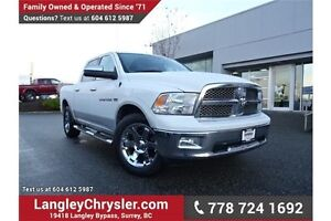 2012 RAM 1500 Laramie LOCALLY DRIVEN, ONE OWNER & ACCIDENT FREE