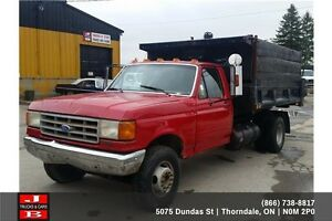 1990 Ford F-350 Roll off truck London Ontario image 2