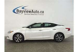 2016 Nissan MAXIMA SV- 3.5L! REMOTE START! LEATHER! REVERSE CAM!