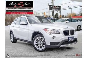 2013 BMW X1 xDrive28i AWD ONLY 107K! **PANORAMIC SUNROOF** PR...