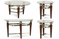 Four- Piece Coffee Table Set