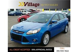 2013 Ford Focus Titanium Remote Key-less Entry, Heated Seats,...