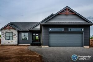Spectacular new build with 3 bdrm, 2 baths, Move in ready