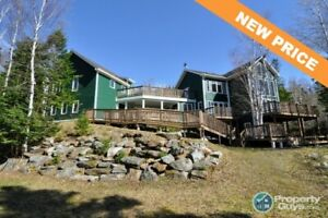 Absolutely stunning waterfront property! Offering 5 bed/5.5 bath