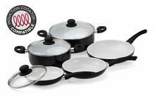 Ovela 8 Piece CeraMax Ceramic Cookware Set Werribee Wyndham Area Preview