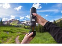Nespresso Capsule Hand held Coffee Maker for Outdoors Camping Hiking NEW Boxed