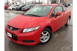 2013 HONDA CIVIC LX - BLUETOOTH - HEATED SEATS - CLOTH INTERIOR