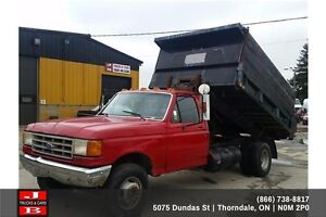 1990 Ford F-350 Roll off truck
