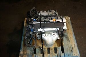 JDM Acura TSX K24A Engine 2004 2005 2006 2007 2008 Japan Low KM