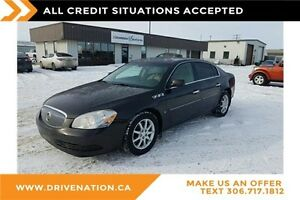 2008 Buick Lucerne CXL. Remote start, sunroof, leather!
