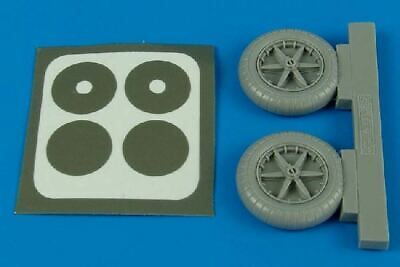 AIRES HOBBY 1/32 BF109E WHEELS FOR EDU 2090