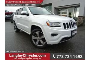 2015 Jeep Grand Cherokee Overland W/ PADDLE SHIFTERS, NAVIGAT...
