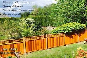 Free Estimate cedar fence panels installation & chain link fence