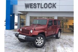2012 Jeep Wrangler Unlimited Sahara Heated Leather Seats