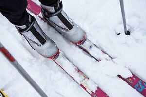Looking for kids cross country skis (121cm) and size 10.5 boots Peterborough Peterborough Area image 1