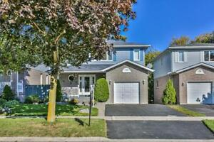 Welcome Home! Well Maintained & Very Bright 3 Washroom Detached