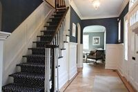 Home painters and staircase painting done by the pros!