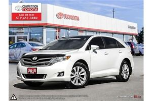 2015 Toyota Venza Base Toyota Certified, One Owner, No Accide... London Ontario image 1