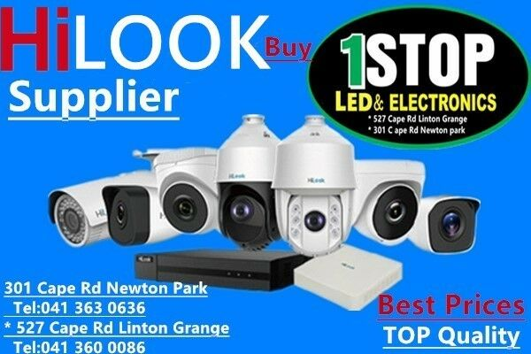 HilLOOK CCTV CAMERA SECURITY-1STOP LED ELECTRONICS PE