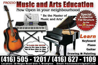 LEARN PIANO GUITAR KEYBOARD AT YOUR DOOR STEP