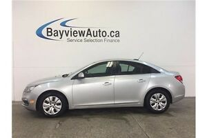 2015 Chevrolet CRUZE LT- TURBO! AUTO! REMOTE START! REVERSE CAM!