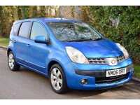 2006 NISSAN NOTE 1.6 SVE 5dr very clean new MOT full history