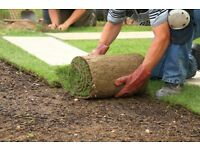 Landscaping & Gardening fencing turf lawns top soil