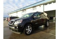 2012 GMC Acadia SLT Well Equipped with leather and sunroof