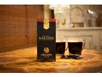 Organo Gold - 30 Sachets of Gourmet Black Coffee 100% Ganoderma Lucidum 1 Box