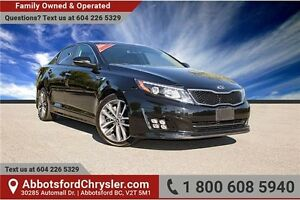 2015 Kia Optima SX Turbo Fully Loaded