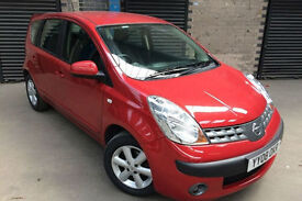 2008 57 NISSAN NOTE 1.6 16v ACENTA, AUTOMATIC 5 DOOR,85000 MILES WITH SERVICE