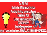 Plumbing, Heating, Electrics, Lighting and Mechanical Services