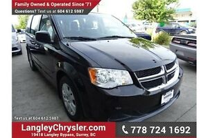 2015 Dodge Grand Caravan SE/SXT w/ Power Accessories & A/C