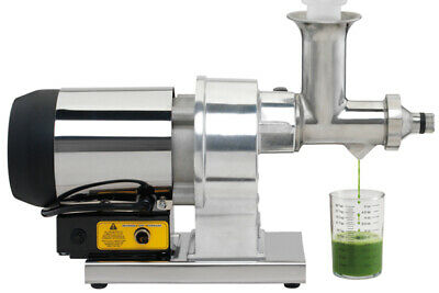 Hamilton Beach Commercial Wheatgrass Juicer Powerful High-torque Motor Hwg800