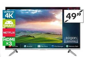 """Kogan 43"""" Agora 4K Smart LED TV (Ultra HD) excellent condition Point Cook Wyndham Area Preview"""