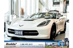 2015 Chevrolet Corvette Stingray LOW MIKEAGE, ONE OWNER PRIST...