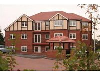 UNFURNISHED DOUBLE ROOM WITH OWN BATHROOM IN A SHARED MODERN FLAT IN MAPPERLEY. COUNTRYSIDE VIEWS.