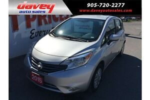 2015 Nissan Versa Note 1.6 SV HEATED SEATS, BLUETOOTH, BACK U...